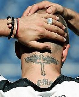 tattoo beckham