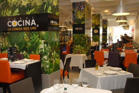 Shared passion for cuisine for Canal cocina tapas